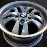 BMW mat zilver