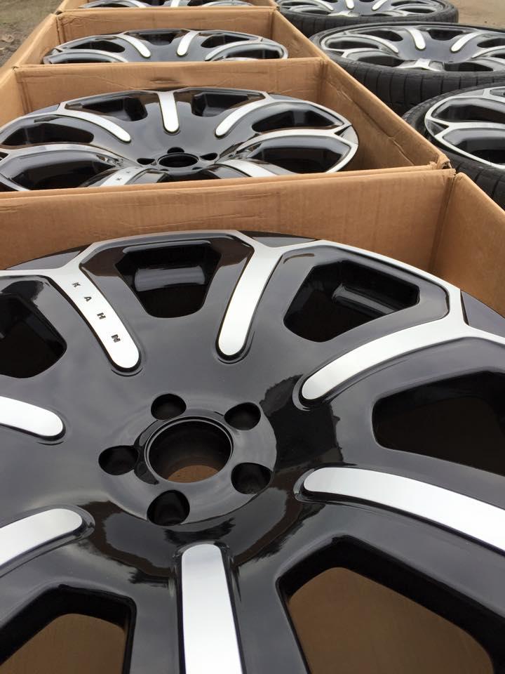 CNC renovatie Kahn wheels Bentley