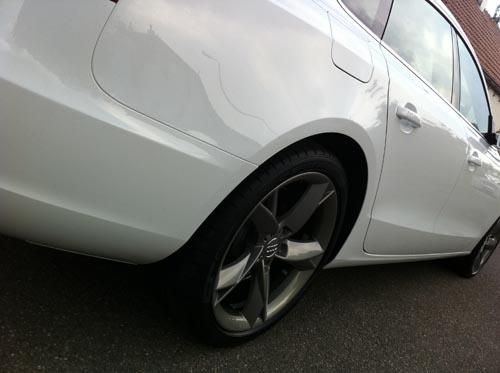 Audi gunmetal