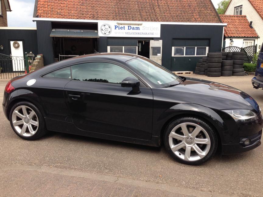 Audi zilver