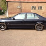 BMW M5 antraciet