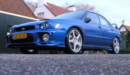 Subaru zilver