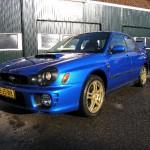 Subaru WRC goud