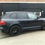 Porsche hoogglans zwart