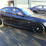 BMW Hoogglans zwart