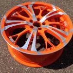 Velg CNC Oranje