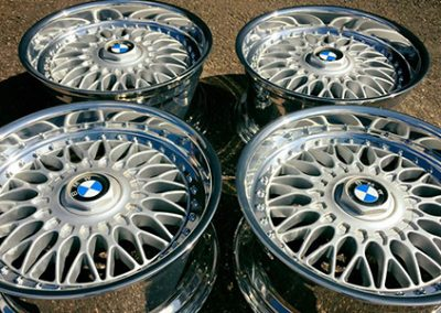 BMW randen polijst